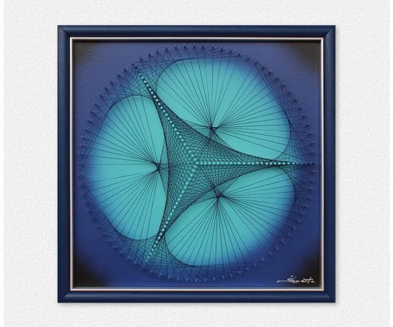 Wall Art in Blue