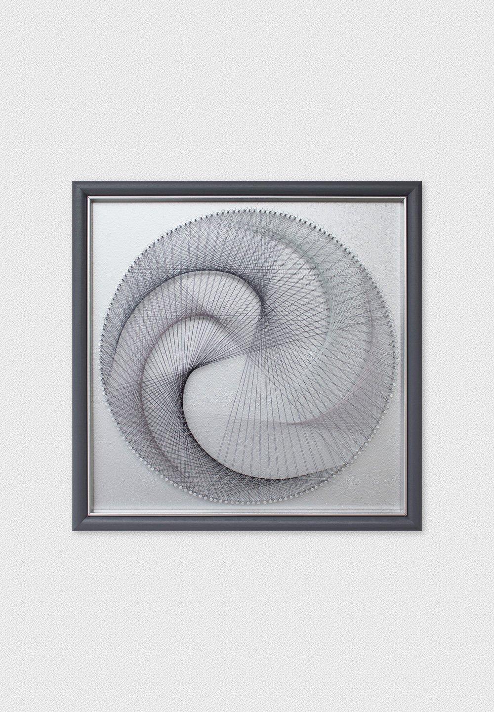 Geometric Wall Art Circle