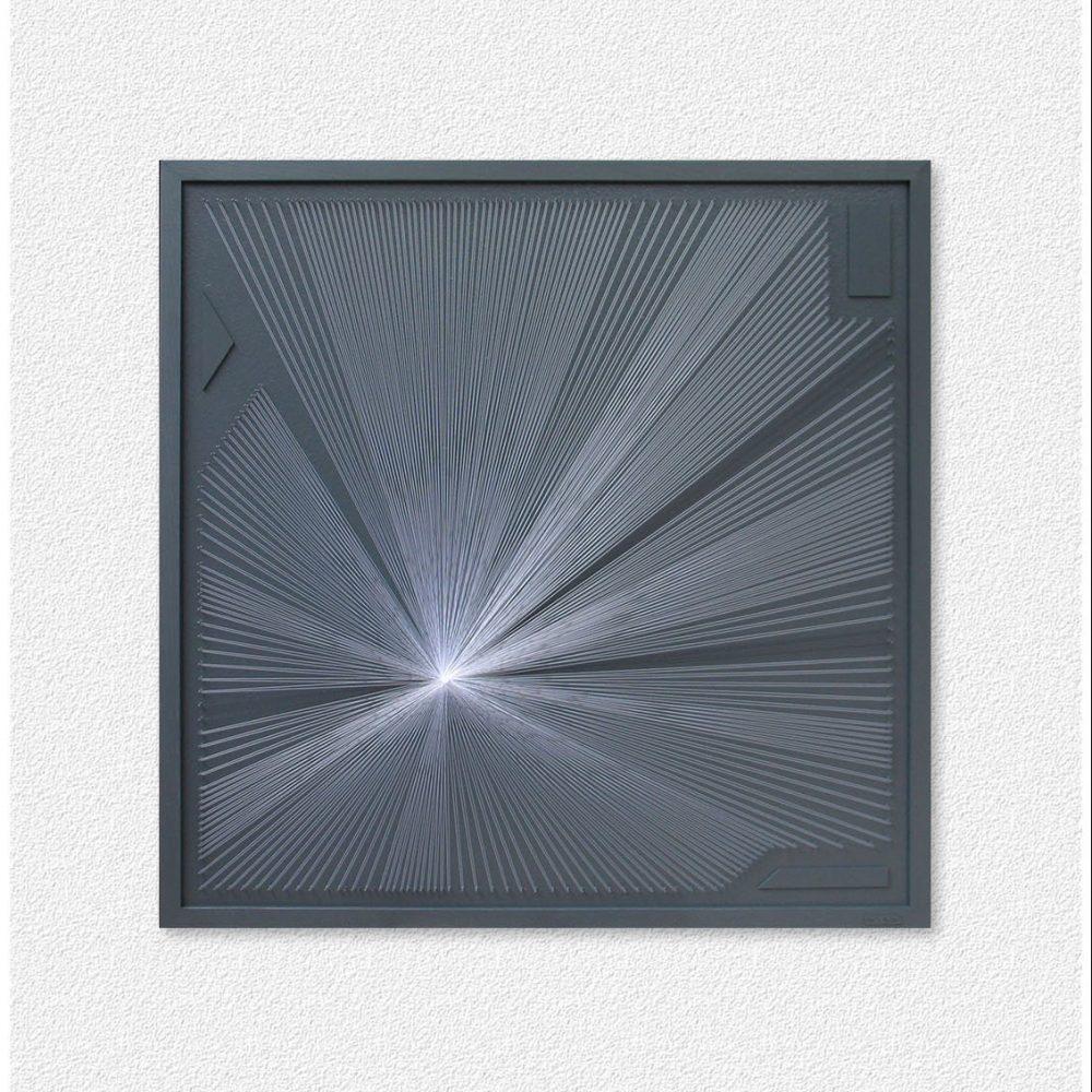 Large Geometric String Art