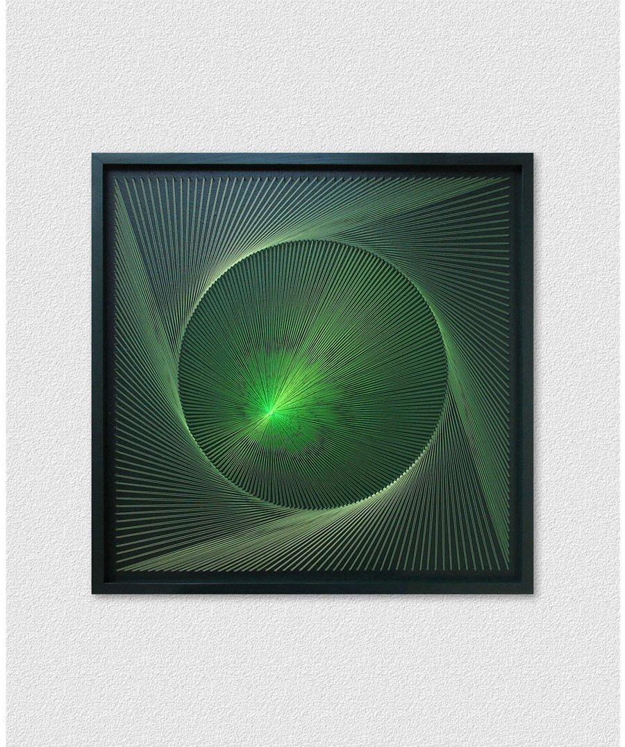 Neon Wall Art Green