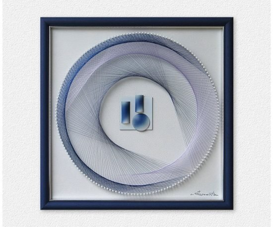 Artwork in Light Blue