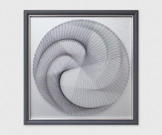 Framed Wall Art Silver
