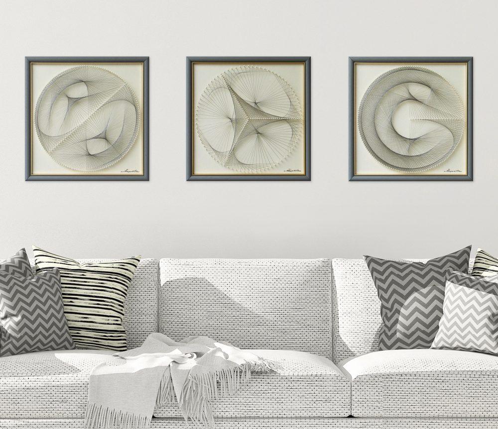 Wall Art Set of 3