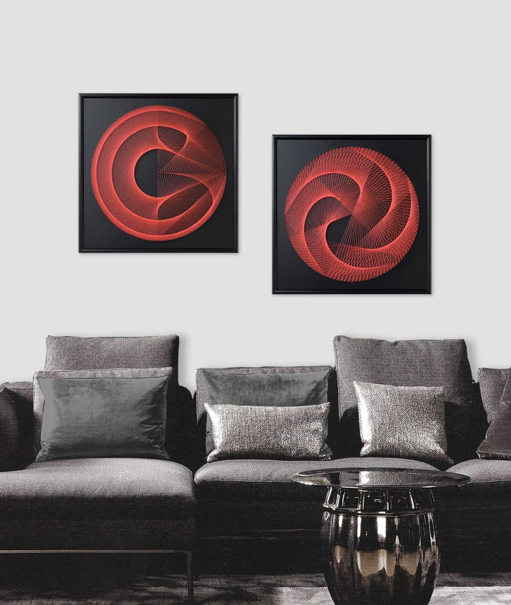 3D Wall Art Geometric