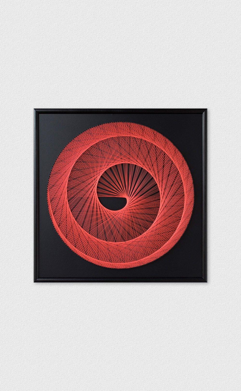 String Art Spiral